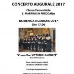 La locandina del concerto