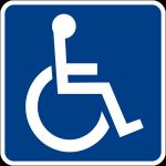 Un simbolo di accessibilità
