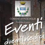 Comune di Pescaglia - Calendario eventi 2016