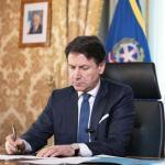 Il Presidente del Consiglio Giuppe Conte