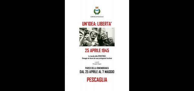 "La locandina di ""Un'idea: libertà"""