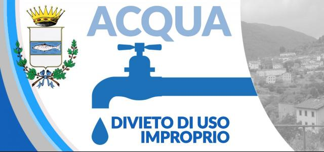 Rendering divieto uso improprio acqua