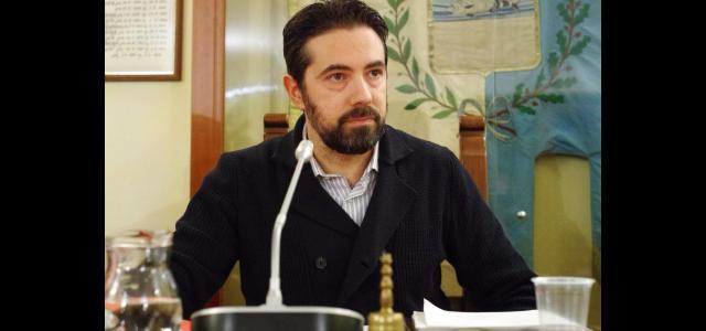 Il sindaco Andrea Bonfanti in consiglio comunale