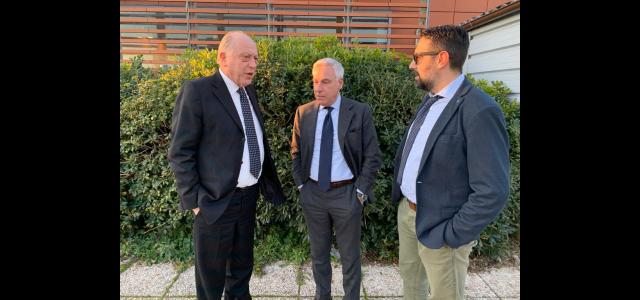 I sindaci Bonfanti, Tambellini e Del Ghingaro