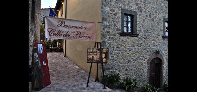 Uno scorcio di Celle dei Puccini
