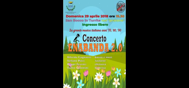 La locandina del concerto degli Enabanda 2.0