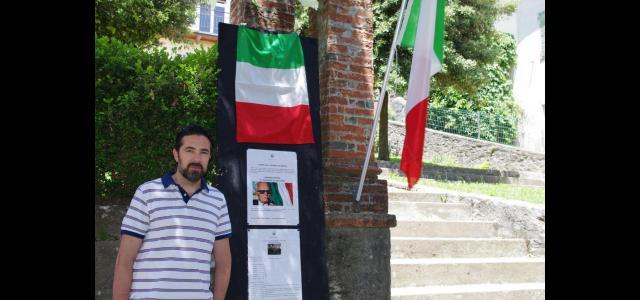 Il sindaco Andrea Bonfanti visita la mostra