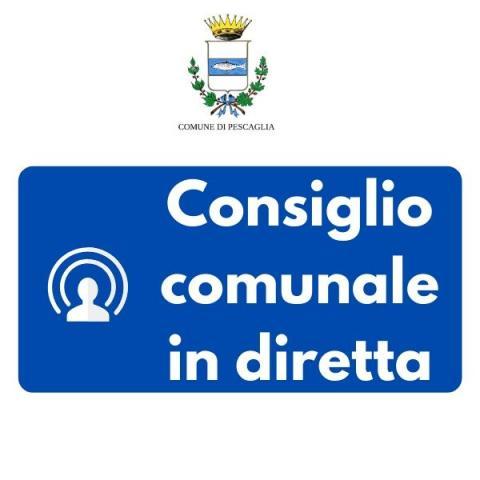 Consiglio comunale in diretta