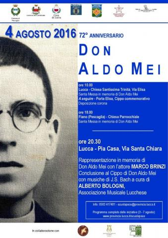 Locandina Don Aldo Mei