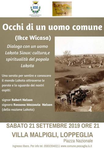 Locandina evento Lakota