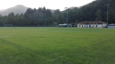 Il campo sportivo di Piegaio