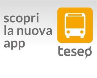 Scopri la nuova app Teseo